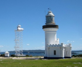 Point Perpendicular Lighthouse and Lookout Logo and Images