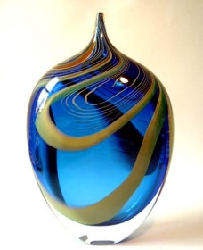 The Hot Glass Gallery and Studio Logo and Images