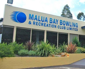 Malua Bay Bowling and Recreation Club Logo and Images