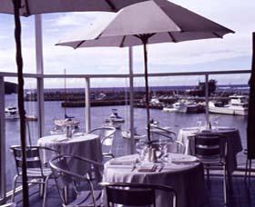 Harbourside Restaurant Logo and Images