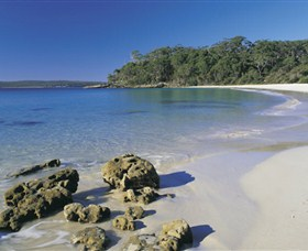 NSW Jervis Bay National Park Logo and Images