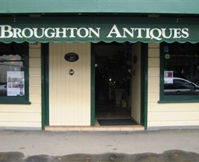 Broughton Antiques Logo and Images