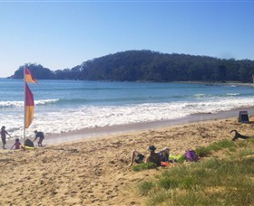 Surf Beach Batemans Bay Logo and Images