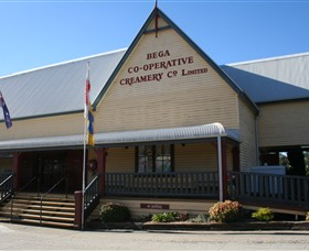 Bega Cheese Heritage Centre Logo and Images