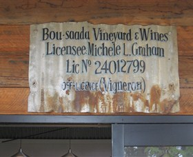 Bou-saada Vineyard and Wines Logo and Images