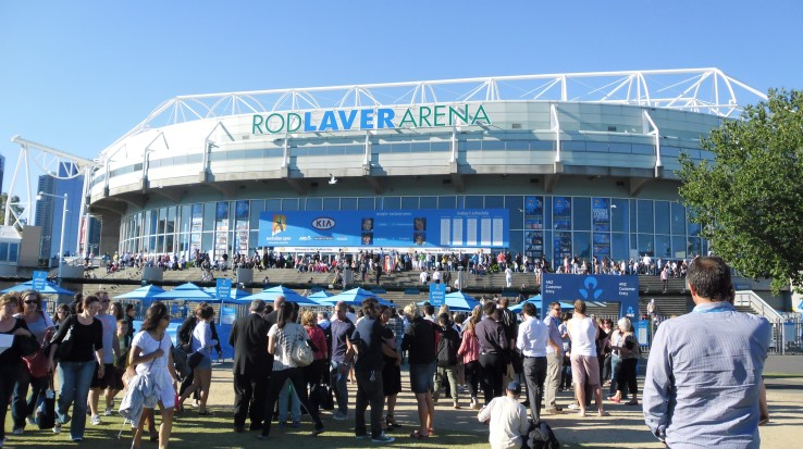 Australian Open Guided Tours Logo and Images