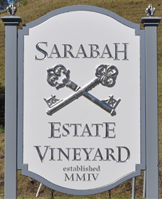 Sarabah Estate Vineyard Logo and Images