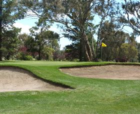 Bathurst Golf Club Logo and Images
