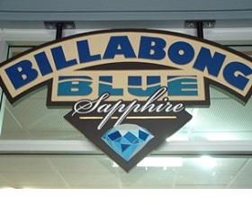 Billabong Blue Sapphires Logo and Images