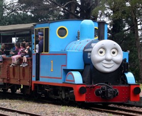 Puffing Billy Steam Railway Logo and Images