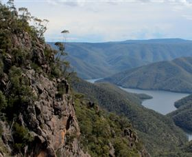 Landers Falls Lookout Logo and Images