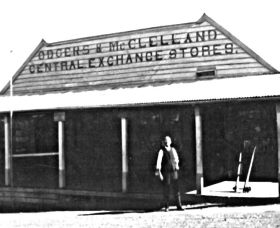 Odgers and McClelland Exchange Stores Logo and Images
