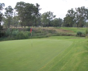 Muswellbrook Golf Club Logo and Images