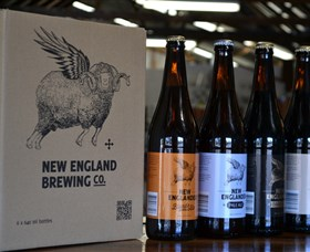 New England Brewing Company Logo and Images