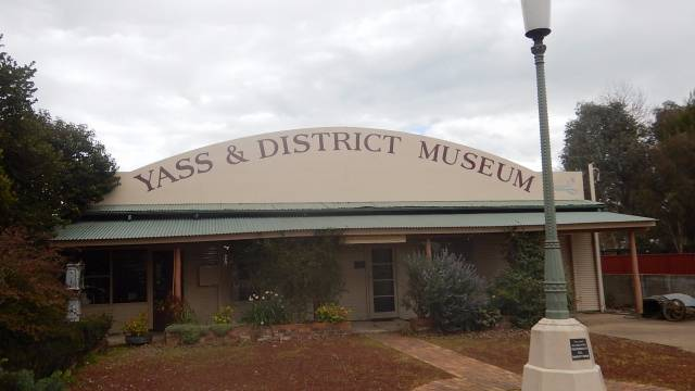Yass and District Museum Logo and Images