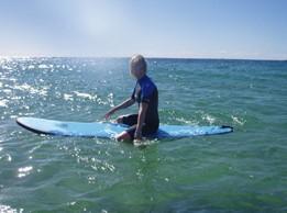 Surfest Surf School Logo and Images