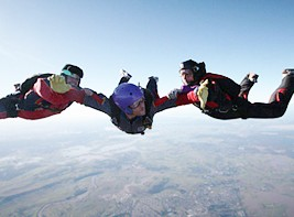 Skydive Maitland Logo and Images