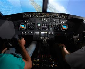 Jet Flight Simulator Sydney Logo and Images