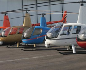 Australian Helicopter Pilot School Logo and Images