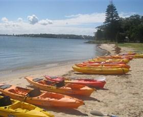 Bundeena Kayaks Logo and Images