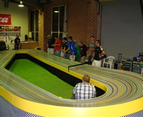 Penrith Slot Car and Hobby Centre Logo and Images
