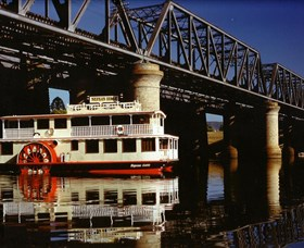 Nepean Belle Paddlewheeler Logo and Images