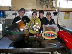 Melba's Chocolate And Confectionery Factory Logo and Images