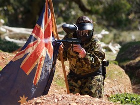 Paintball Sports Logo and Images