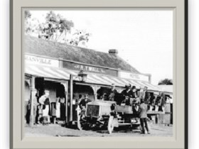 Yankalilla District Heritage Trail Logo and Images