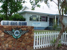 Charleville - Royal Flying Doctor Service Visitor Centre Logo and Images