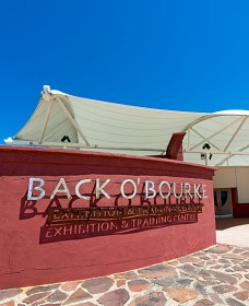 Back O Bourke Exhibition Centre Logo and Images