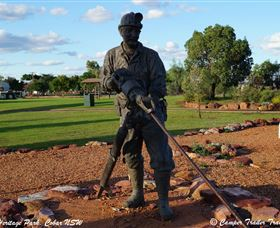 Cobar Miners Heritage Park Logo and Images