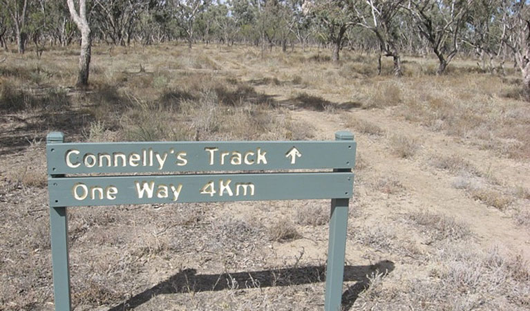 Culgoa Connellys track Logo and Images