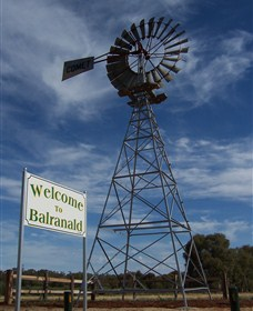 Balranald Heritage Trail Logo and Images