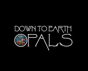 Down to Earth Opals Logo and Images