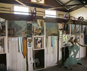 Mid-State Shearing Shed Museum Logo and Images