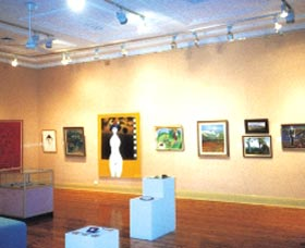 Griffith Regional Art Gallery Logo and Images