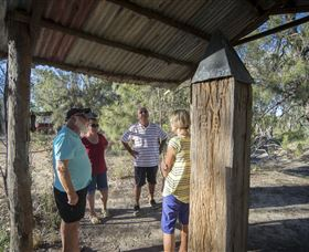 One Ton Post, Mungindi Queensland Logo and Images