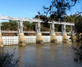 Gogeldrie Weir Logo and Images