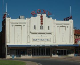Roxy Theatre Leeton Logo and Images