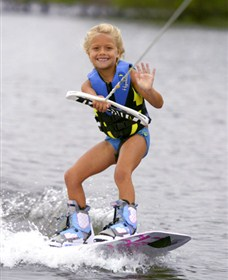 Brett Sands Watersports and Wakeboard Centre Logo and Images