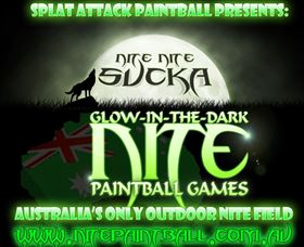 Nite Paintball Games Moama Logo and Images