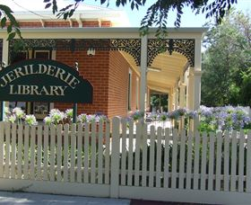 Jerilderie Library Logo and Images
