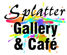 Splatter Gallery and Art Studio Logo and Images