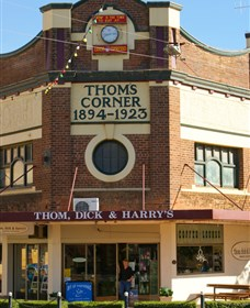 Thom, Dick and Harrys Logo and Images