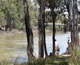 Murrumbidgee River And Fresh Water Beaches Logo and Images