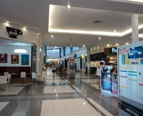 Whitsunday Plaza Shopping Centre Logo and Images
