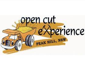 Peak Hill Open Cut Experience Logo and Images