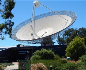 CSIRO Parkes Radio Telescope Logo and Images