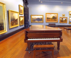 Art Gallery of Ballarat Logo and Images
